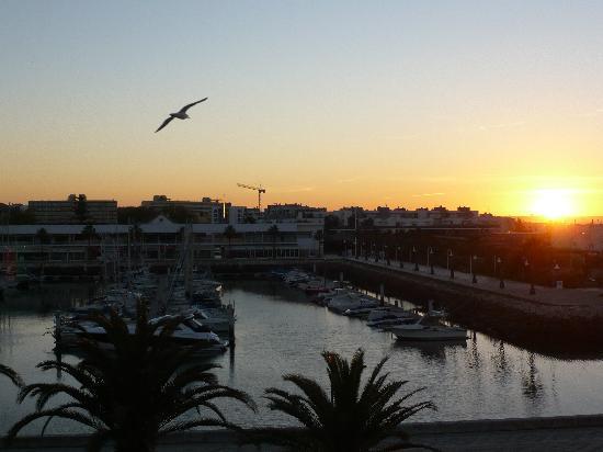Hotel Marina Rio : Sunrise over the marina.