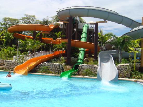 Awesome water slides