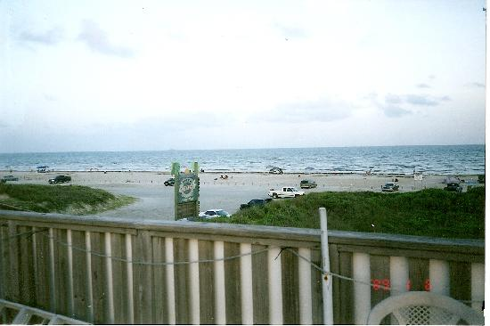 The Beach Lodge: view from the top deck