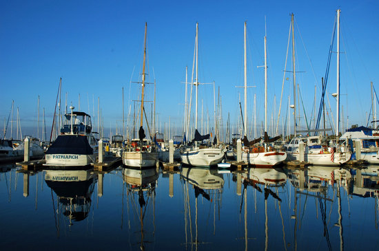 Chula Vista, Californië: View of the Marina