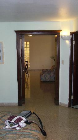 Crystal Suites: Vista desde el interior de la habitación
