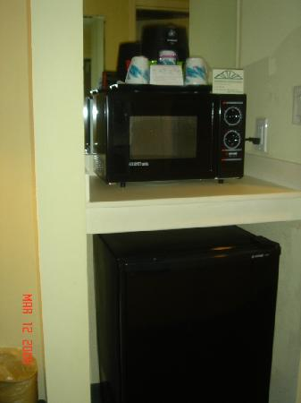 Wingate by Wyndham Fredericksburg : the microwave and fridge added value to the stay
