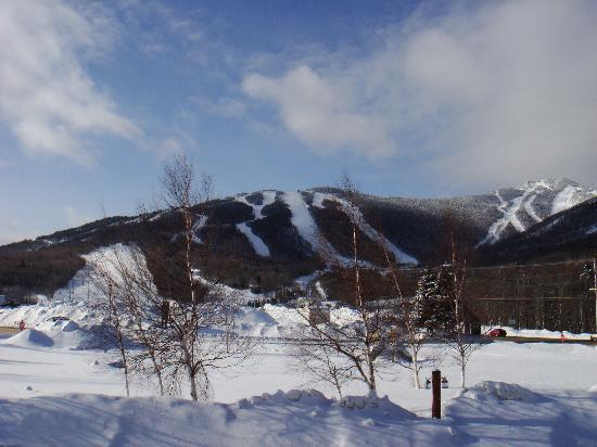 The Mountain Inn: view from our room