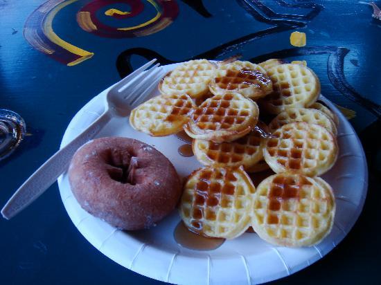 The Mountain Inn: my breakfast :))