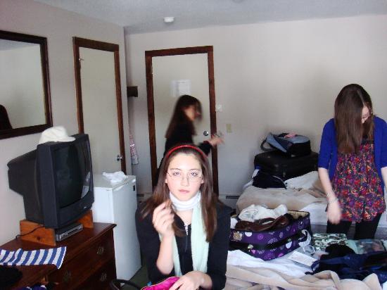 The Mountain Inn: the room