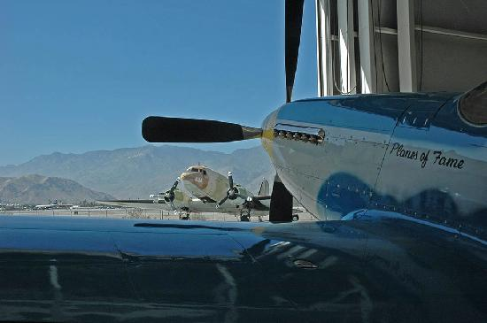 Old Ranch Inn: Palm Springs Air Museum - terrific!