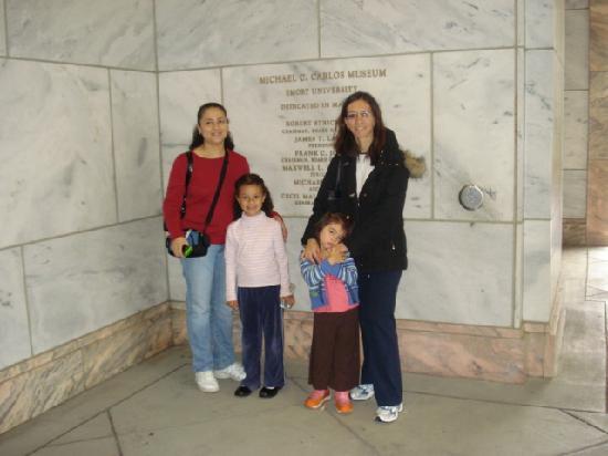 Michael C. Carlos Museum: en la entrada