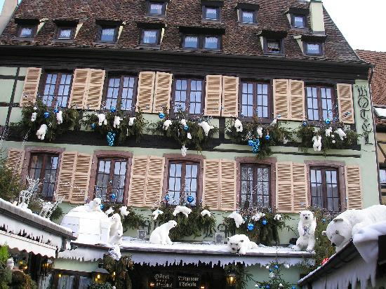 Colmar, Frankreich: Déco.de Noël