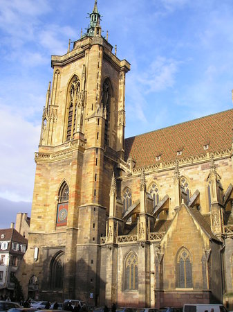 Colmar, France: Eglise