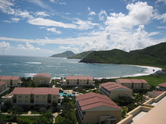Saint Kitts: View from Marriot