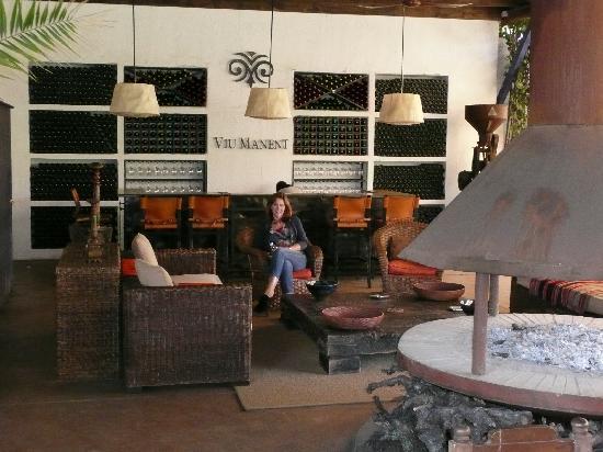 Santa Cruz, Chili : The restaurant/wine tasting area