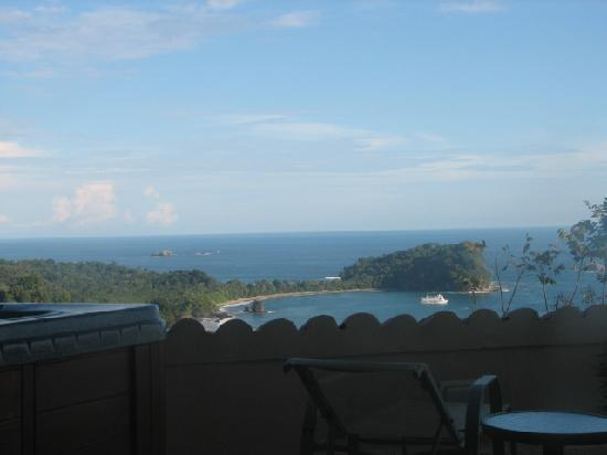 La Mariposa Hotel: view from our room