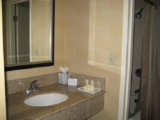 Courtyard Philadelphia Devon: Bathroom sink