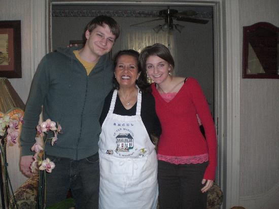 Angel of the Morning Bed and Breakfast: my boyfriend and I with Rosemary