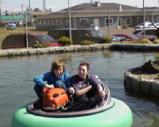 Ocean Shores, Etat de Washington : bumper boats