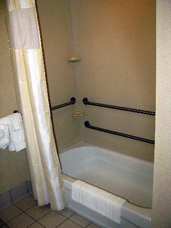 hilton garden inn akron canton airport our bathroom handicap accessible - Hilton Garden Inn Akron