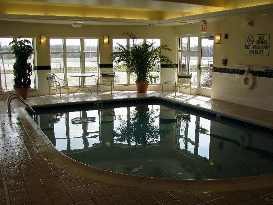 Hilton Garden Inn Akron-Canton Airport: Swimming pool at the Hilton Garden Inn