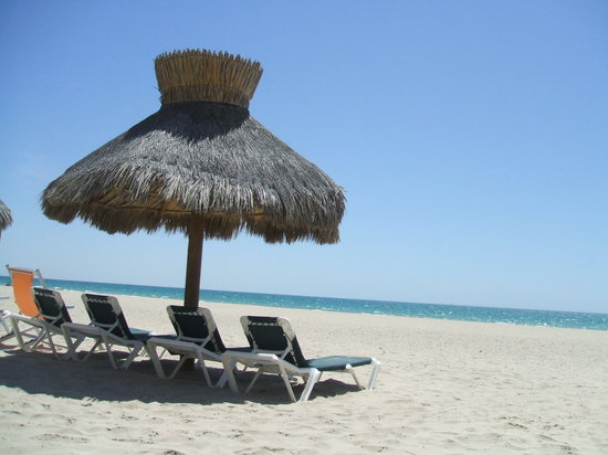Puerto Penasco, Mexico: wide beach