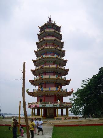 Palembang, Indonesia: Pagoda