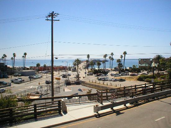 Howard Johnson Santa Cruz Beach Boardwalk: Best View From Room