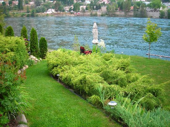 River's Edge Bed and Breakfast : Backyard