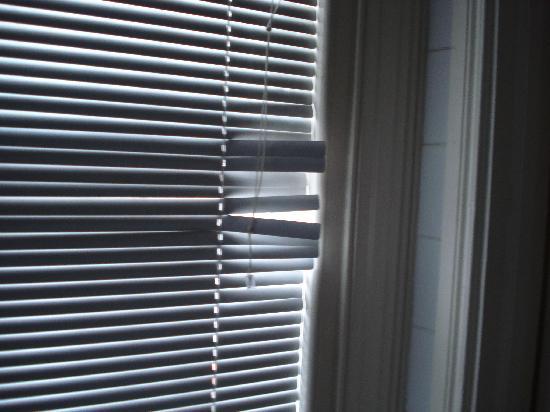 Damaged Blinds Picture Of Phoenix Park Hotel Dublin Tripadvisor