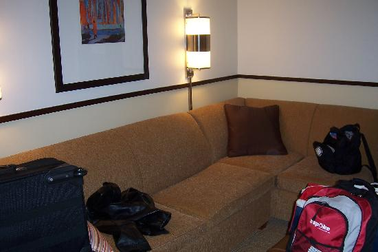 Hyatt Place Fair Lawn Paramus: The second part of the room