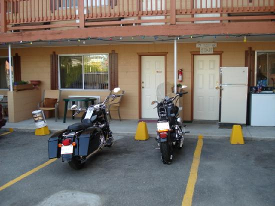 Sun Beach Motel: biker friendly