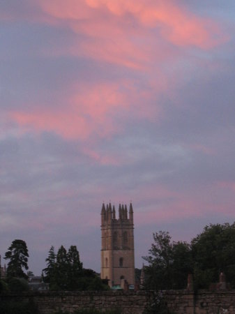 Oxford, UK: Sunset