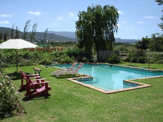 Aasvoelkrans Bed and Breakfast: Pool