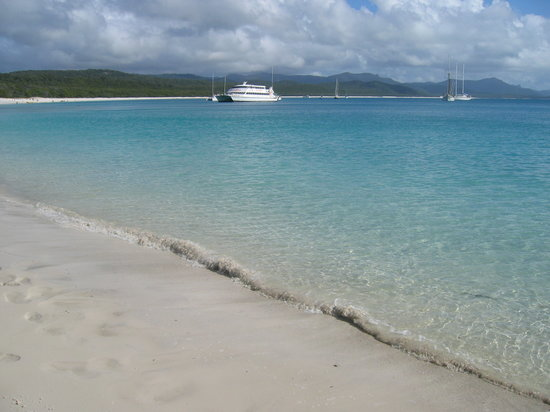 Whitsunday Islands, Australië: Whitehaven Beach