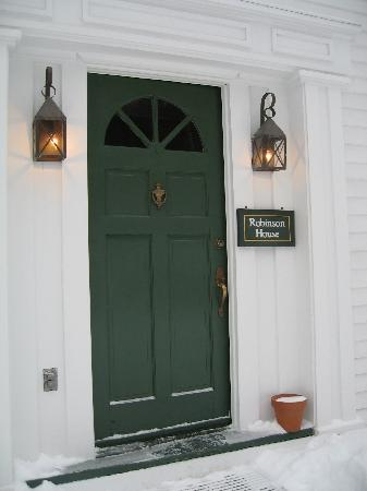 Three Mountain Inn: Door to Robinson House