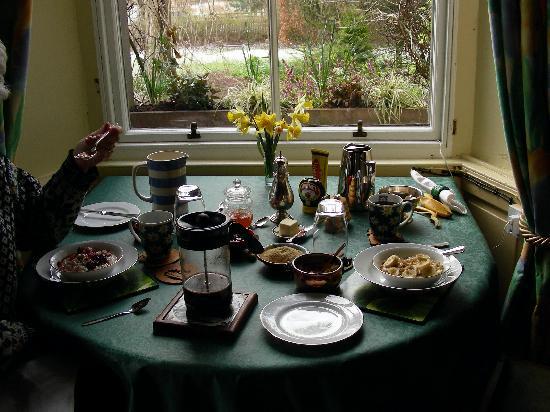 Mansefield B&B: Breakfast at Mansefield Guesthouse