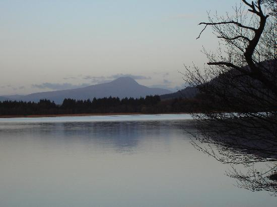 Ben Lomond from the Chalet