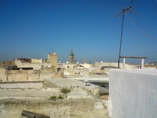 View over the Rooftops, Meknes