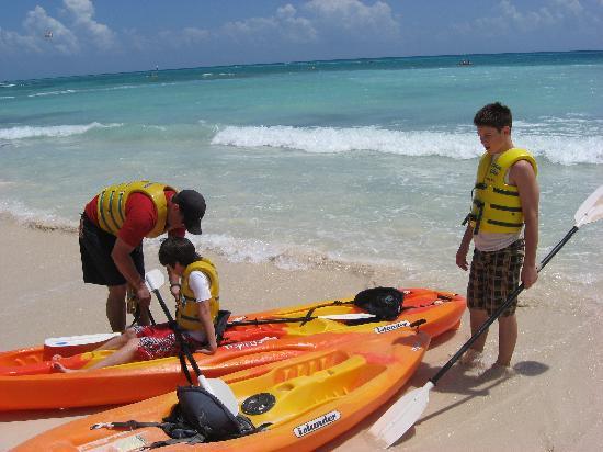The Royal Haciendas All Suites Resort & Spa: RH Kayaks