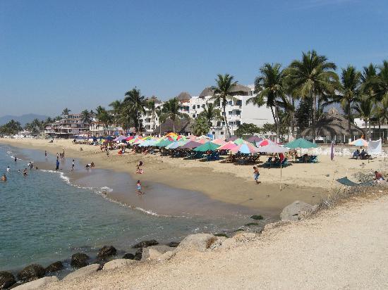 Manzanillo, Mexico: Las Brisas at the jetty