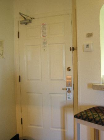 Windmill Suites in Surprise: door and wet bar