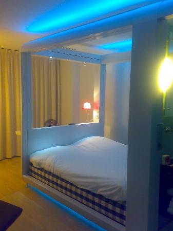 Qbic Hotel Amsterdam WTC: Room appearance