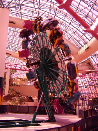 Circus Circus Adventuredome Theme Park: thrill ride