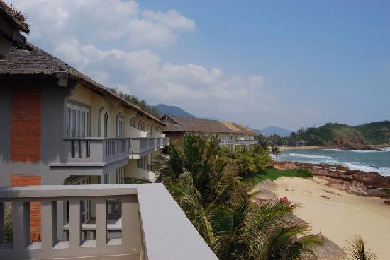 AVANI Quy Nhon Resort & Spa : LIfe Resort Quy Nhon view from 3rd floor