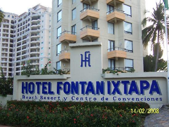 Hotel Fontan Ixtapa: J'aime ixtapa