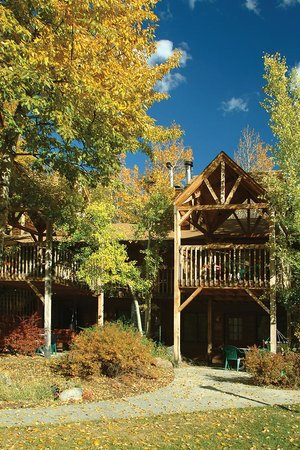 Streamside on Fall River: Fall Aspens @ the Riverside Condos