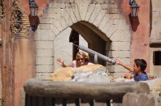 Hotel Villa Mauri : Ausflug nach Italia in Miniatura (Wasserspiele für die Kinder)