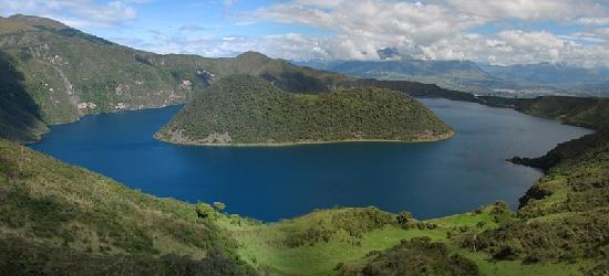 Laguna Cuicocha, الإكوادور: Cuicocha Crater Lake