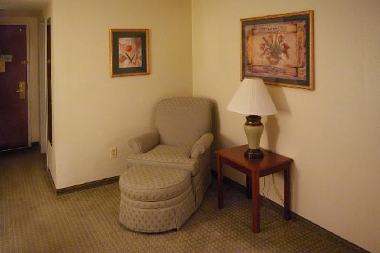 Wingate by Wyndham Schaumburg / Convention Center: This chair came in helpful after a long day of walking