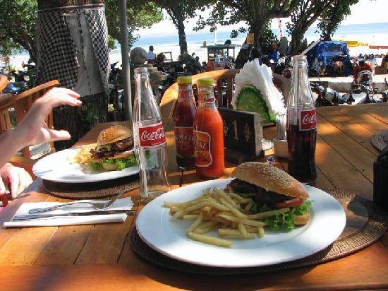 Kumala Hotel: One of the meals on offer
