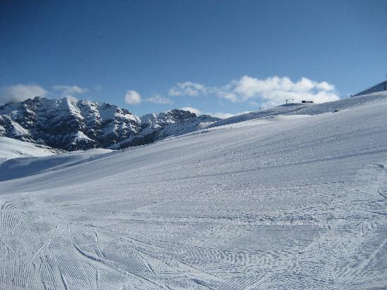 Intermonti Hotel: Wide slopes in Livigno