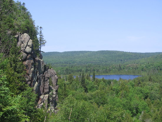 Duluth, Μινεσότα: Oberg Loop View summer