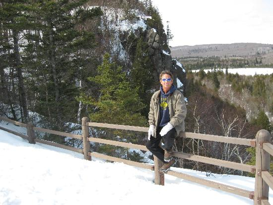 Oberg Mountain Loop: Oberg Loop Winter